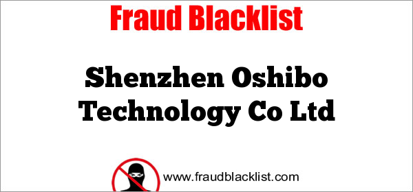 Shenzhen Oshibo Technology Co Ltd