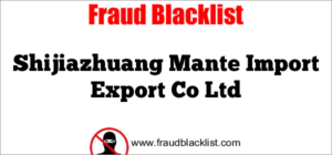 Shijiazhuang Mante Import Export Co Ltd