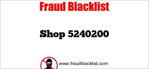 Shop 5240200