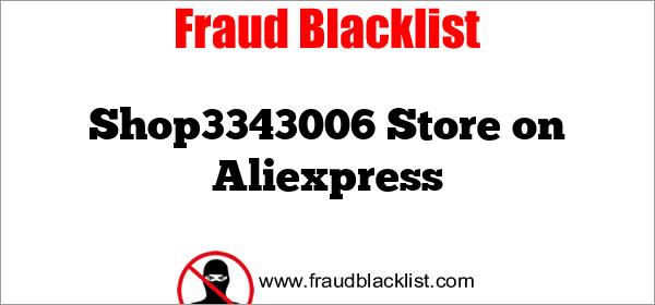 Shop3343006 Store on Aliexpress