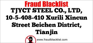 TJYCT STEEL CO., LTD, 10-5-408-410 Xurili Xincun Street Beichen District, Tianjin