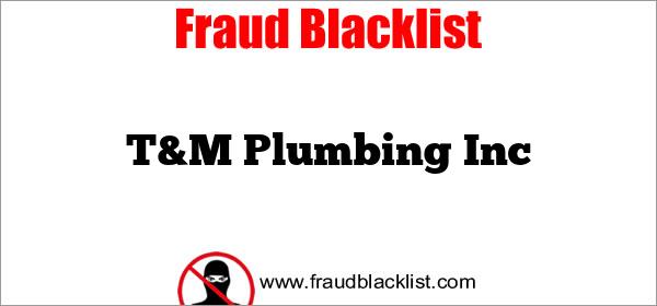 T&M Plumbing Inc