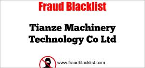 Tianze Machinery Technology Co Ltd