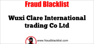 Wuxi Clare International trading Co Ltd
