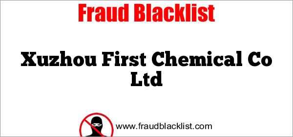 Xuzhou First Chemical Co Ltd