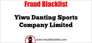 Yiwu Danting Sports Company Limited