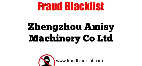 Zhengzhou Amisy Machinery Co Ltd