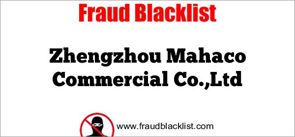 Zhengzhou Mahaco Commercial Co.,Ltd