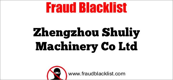 Zhengzhou Shuliy Machinery Co Ltd