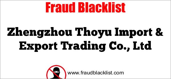 Zhengzhou Thoyu Import & Export Trading Co., Ltd