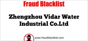 Zhengzhou Vidar Water Industrial Co.Ltd