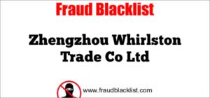Zhengzhou Whirlston Trade Co Ltd
